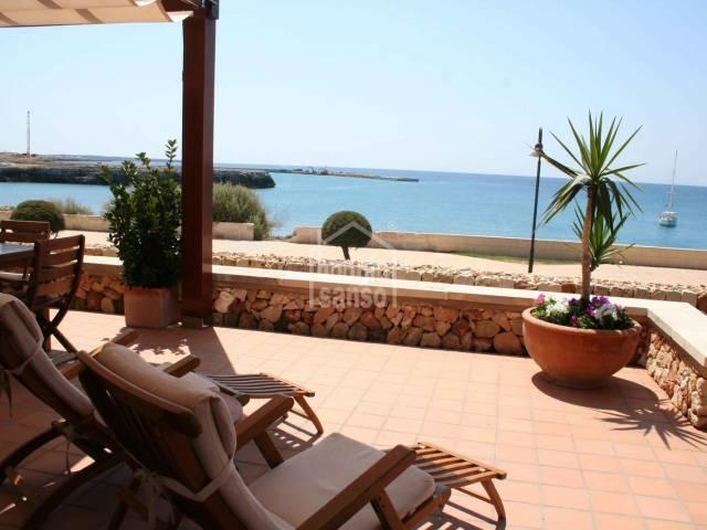 Apartamento en primera linea de mar en Ciutadella