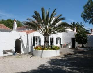 Casa de campo tradicional en Trebaluger, Menorca