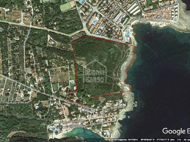 Maravillosa finca en 1ª línea de Mar en Menorca