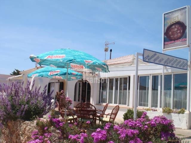 Interesante negocio. Restaurante en Binisafua Playa
