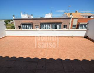 Ático con gran terraza en Ciutadella