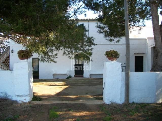 Casa de campo de estilo menorquín en Ciutadella