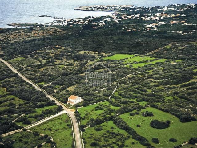 Predio Menorquin costa sur