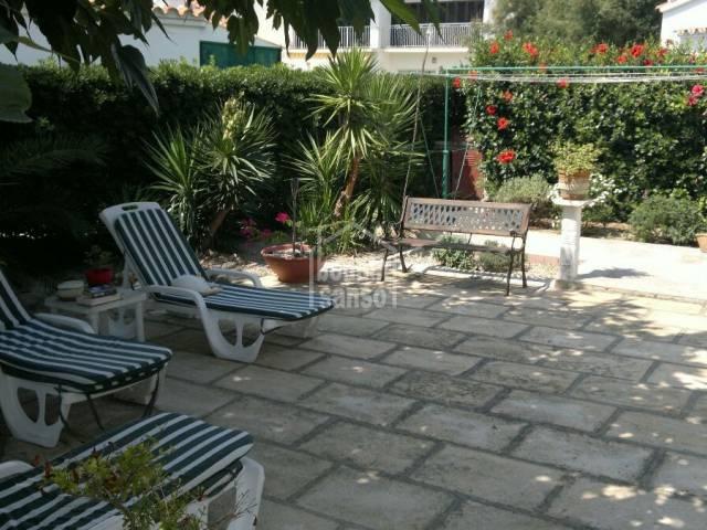 Atractivo chalet en un bonito complejo en Salgar, Menorca