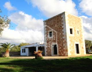 Front - Rustic estate with distant sea views Menorca