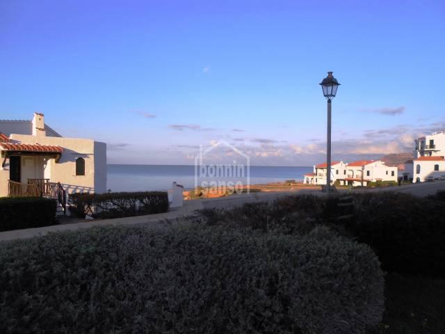 Extraordinario apartamento con fantásticas vistas al mar