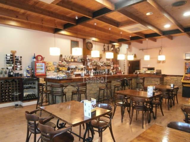 Bar/restaurante en Mahon Malbuger