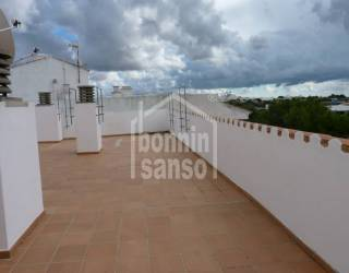 Primer piso en Alaior con vistas panoramicas.