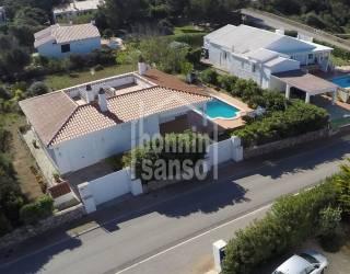 Villa familiar en Binidali. Menorca