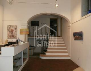 Galería de Arte convetible en vivienda en Mahón