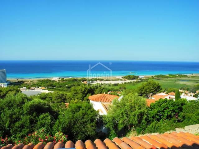 Apartamento con magníficas vistas al mar en Menorca