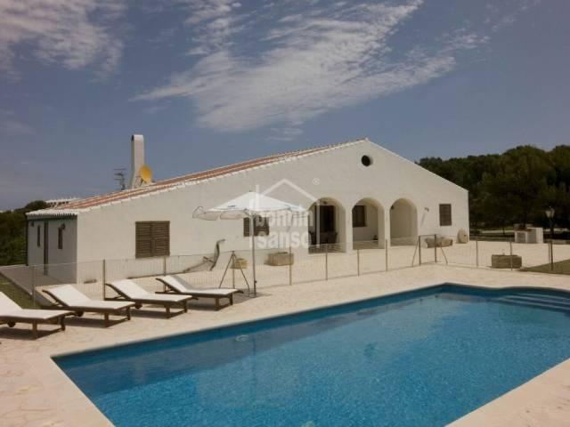 Casa de campo en la zona de Son Morell de Ciutadella