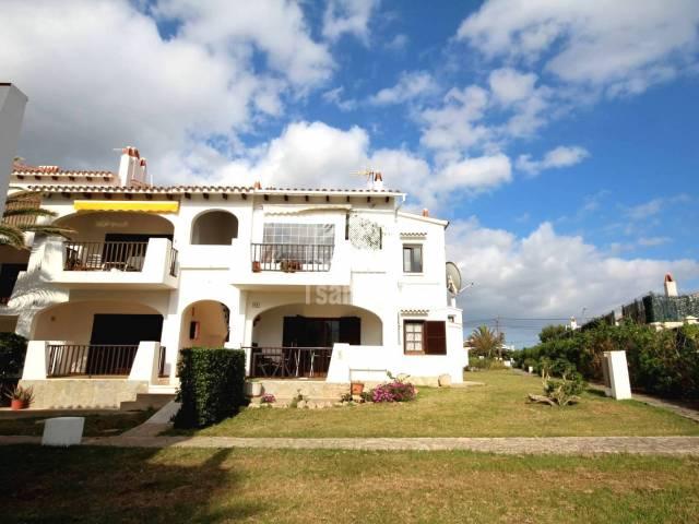 Fachada - Contemporáneo piso con vistas al mar. C.Porter Menorca