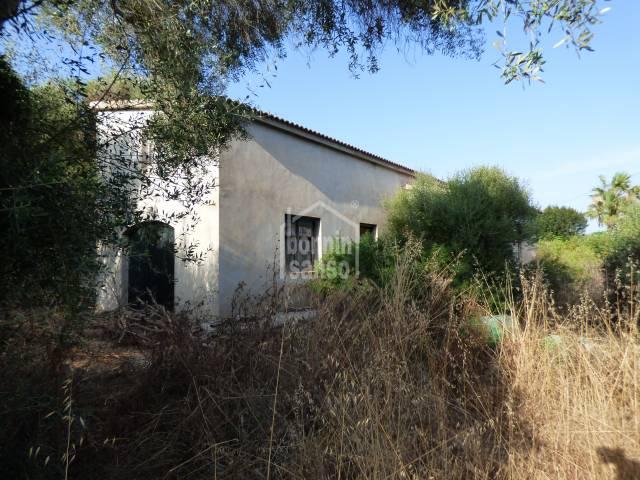 Proyecto en construccion Trebaluger Menorca