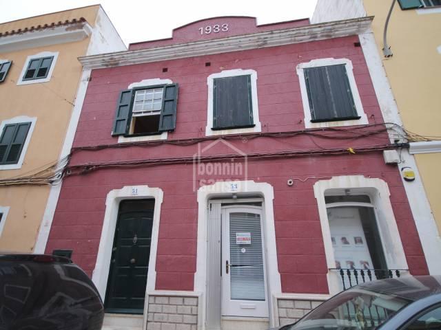 Casa con encanto en Es Castell centro