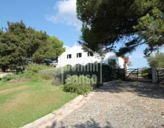 Traditional farmhouse lovingly restored, in Mahon, Menorca