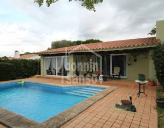 Chalet en Binisafua Rotters con jardín y piscina
