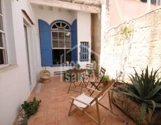 Acogedora casa en el centro de Mahón, Menorca