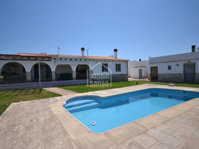 Preciosa casa de campo en Ciutadella