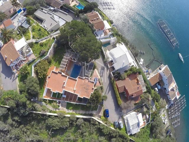 Villa única orientación sur-oeste Puerto de Mahón Menorca