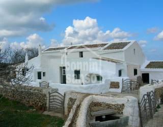 Casa de campo autentica estilo menorquín cerca de Mahón