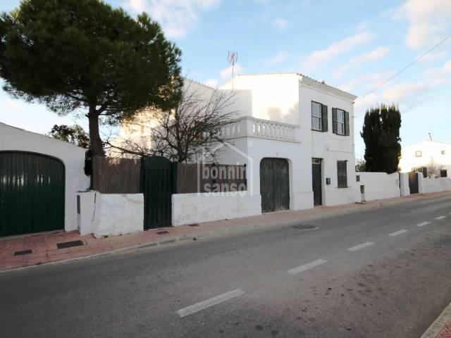 Oportunidad, Casa con Caracter en Llumesanes, Menorca