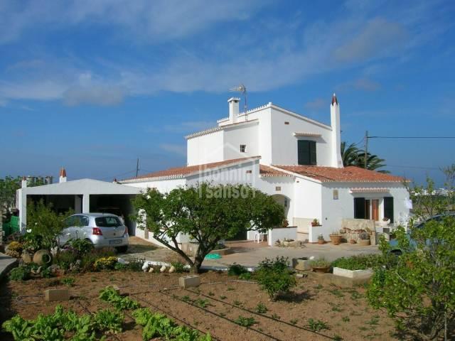 Casa contemporanea cerca de Sant Lluis