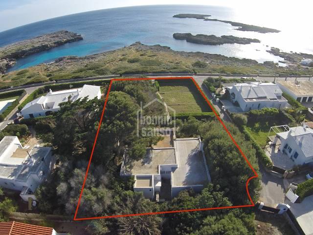 Primera linea en Binisafua Rotters Menorca