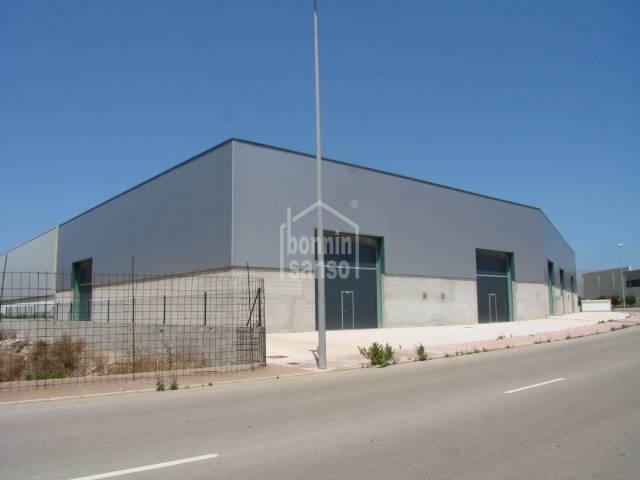 Nave industrial reciente construction en San Luis