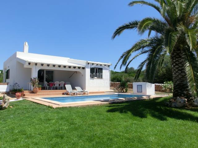 Villa in Binisafua Beach, Menorca.
