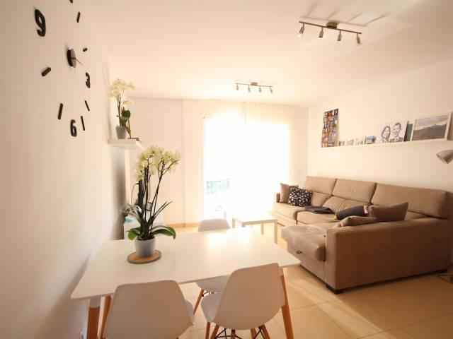 Modern first floor apartment in Ferrerias, Menorca.