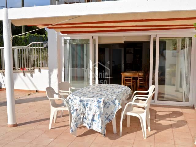 Schöne Wohnung nur wenige Meter vom schönen Strand von Punta Prima,Menorca