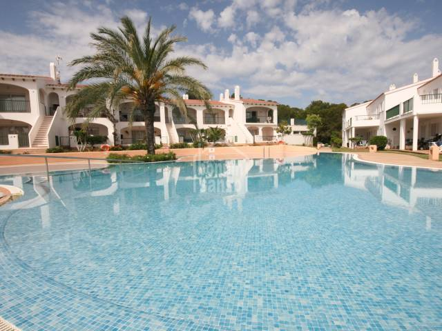 Attractive apartment close to the  golf course of Son Parc,Menorca