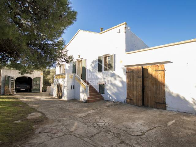 Country house in Santandria with access to the beach, Ciutadella, Menorca