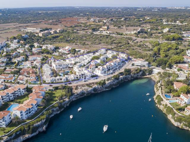 Hotel complex of apartments on the east coast of Menorca