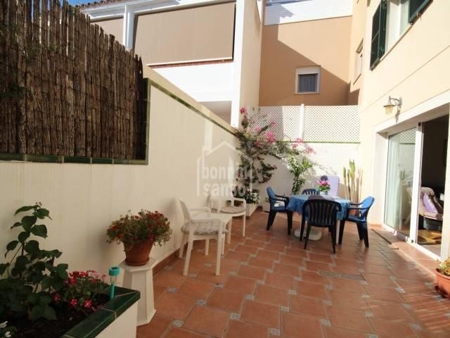 Casa con patio y terrazas en Sant Lluis Menorca
