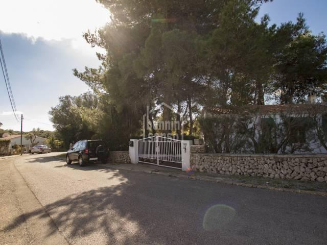 Family home in Binixica, Mahon, Menorca
