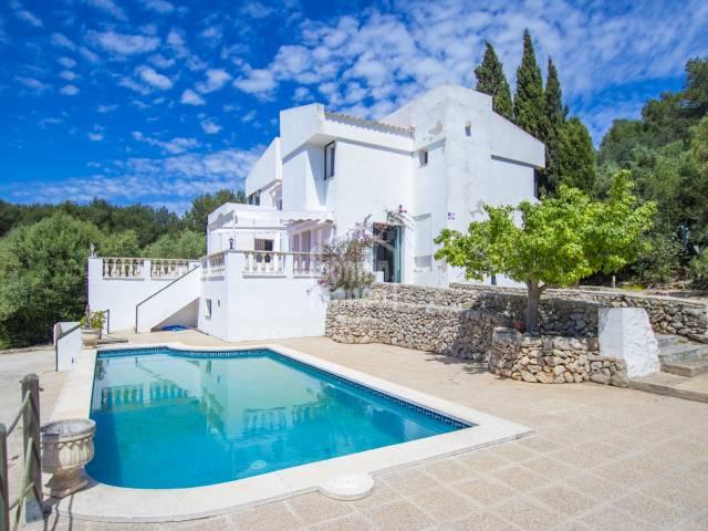 Villa located in the urbanization of Sa Roca, Mercadal, Menorca