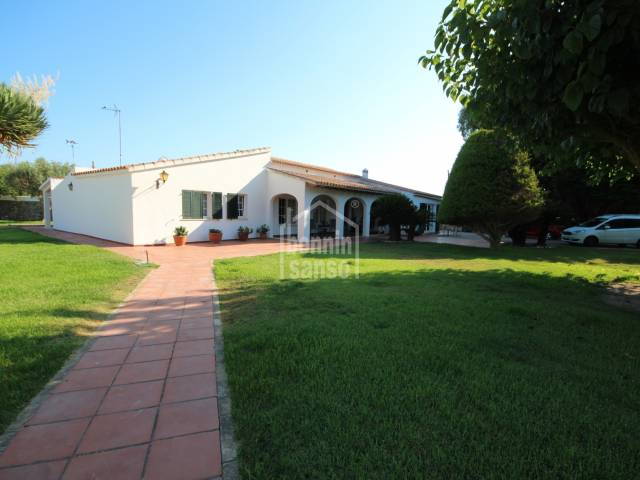 Fantastic country house near Ciutadella, Menorca.