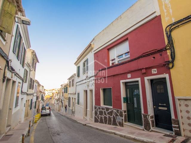 Apartment with separate entrance near the city centre, Mahon, Menorca.
