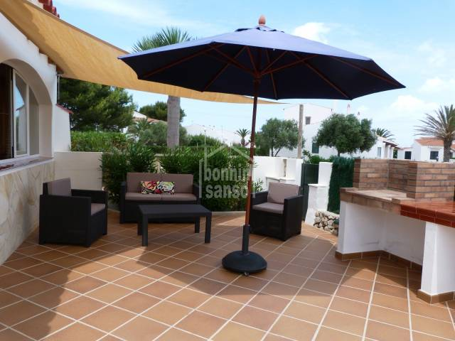 Ground floor apartment with private garden-patio, Na Macaret Menorca