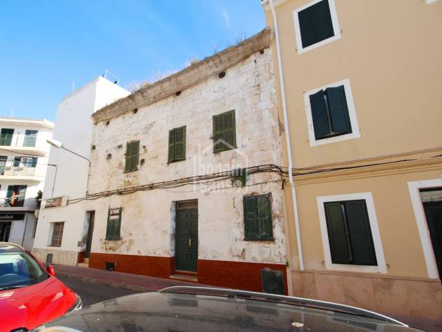 Townhouse to reform in the centre of Es Castell.