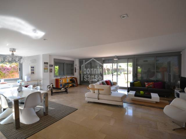 Modern villa with views, located in Son Oleo, a few meters from the sea Ciutadella Menorca