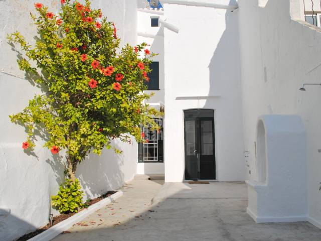Recently refurbished superb town house in Alayor, Menorca