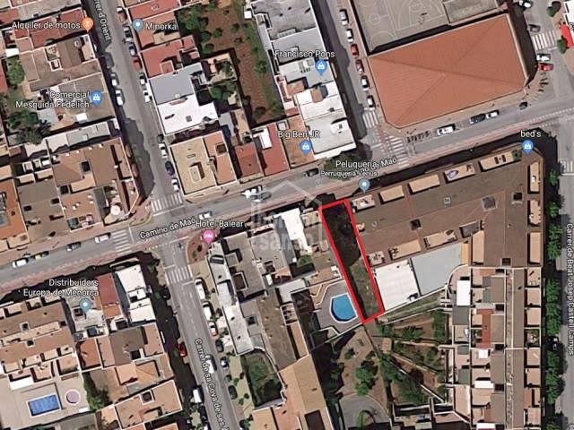 Building plot in Ciutadella, Menorca