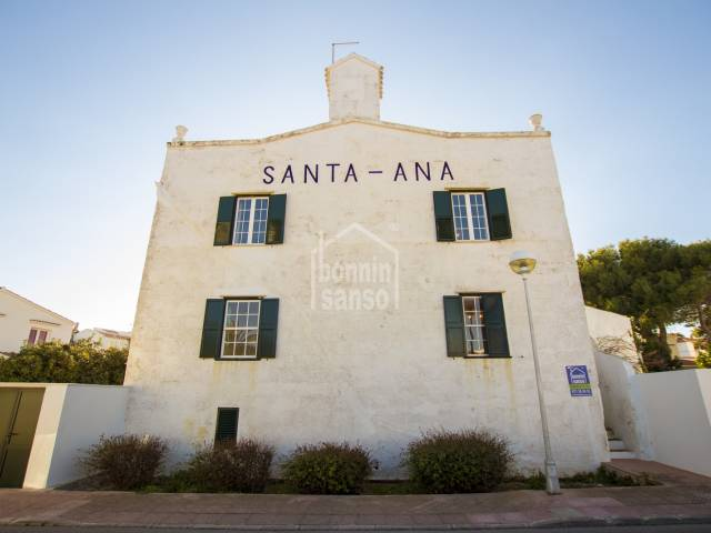 Unic property overlooking Cales Fons in Santa Ana,  Es Castell, Menorca