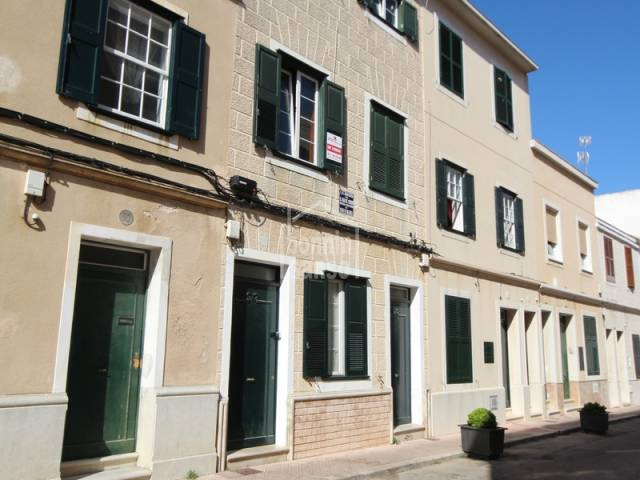 Ground floor house Mahon Menorca