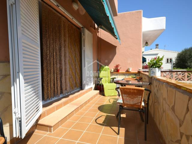 Terraced house of approx. 101m² and garden/terrace of approx. 37m², 5 minutes walk from the Cala Millor Beach, Mallorca