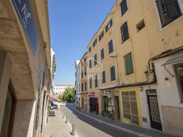 Building with a renovation opportunity in the centre of Mahon, Menorca.