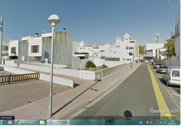 Building plot centre of Mahon, Menorca